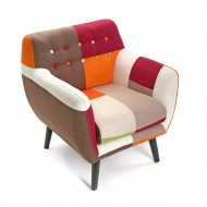 Sillón Red Patchwork Ref. 1160/1950-0460