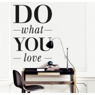 Vinilo Do what you love Ref. 1202/SV554